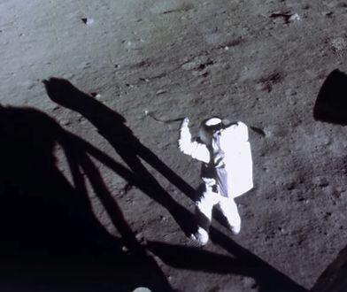 Lądowania na Księżycu po zdumiewającej renowacji nagrania przez SI [Wideo]