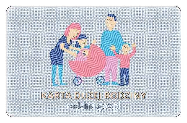 Wzór Karty Dużej Rodziny
