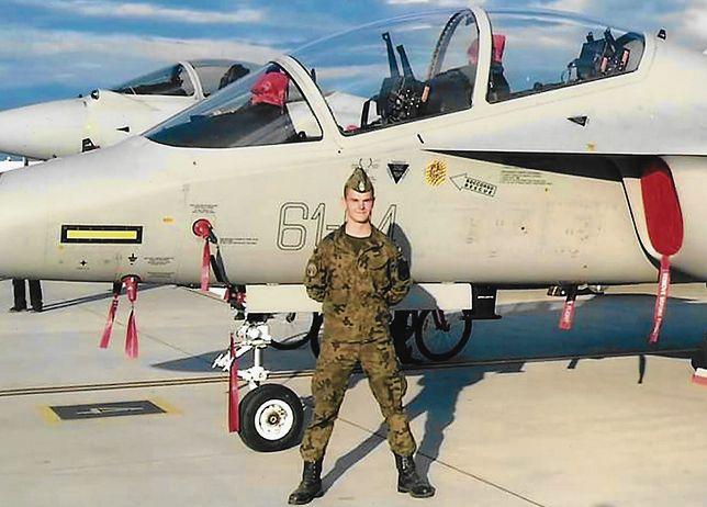 Łukasz Chudzik został pilotem, tak jak jego tata