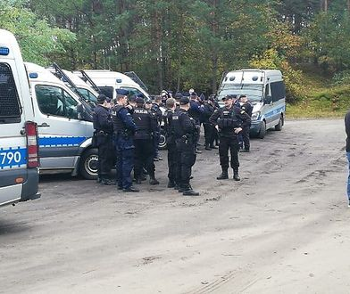 Policja zatrzymała Jacka D., poszukiwanego od kilku tygodni w Puszczy Noteckiej
