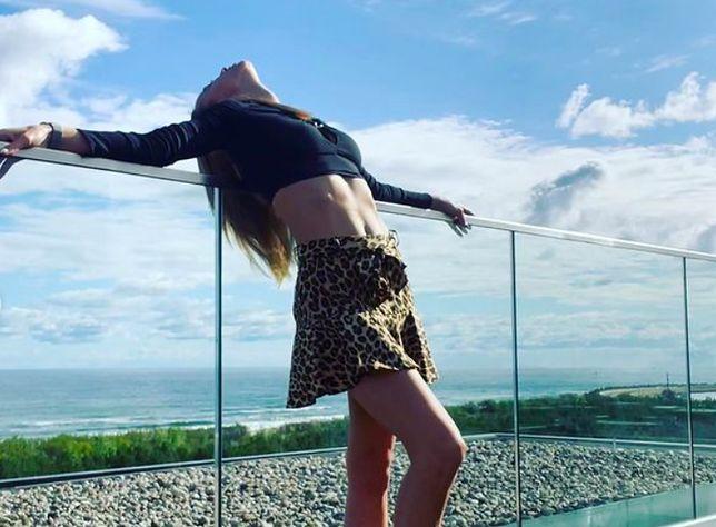 """Warszawa. Marianna Schreiber, żona ministra z PiS, która poszła do programu """"Top Model"""", znalazła się w centrum zainteresowania. Wiele osób skrytykowało ją, ale prezydent stolicy wziął ją w obronę (Instagram)"""