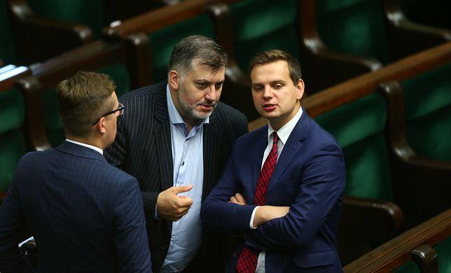 Konfederacja: Robert Winnicki, Artur Dziambor, Jakub Kulesza