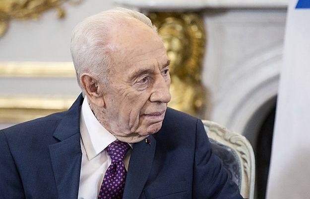 Szimon Peres doznał udaru i trafił do szpitala