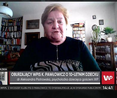 """Aleksandra Piotrowska krytykuje wpis Krystyny Pawłowicz. """"W przyrodzie występują więcej niż dwie płcie"""""""