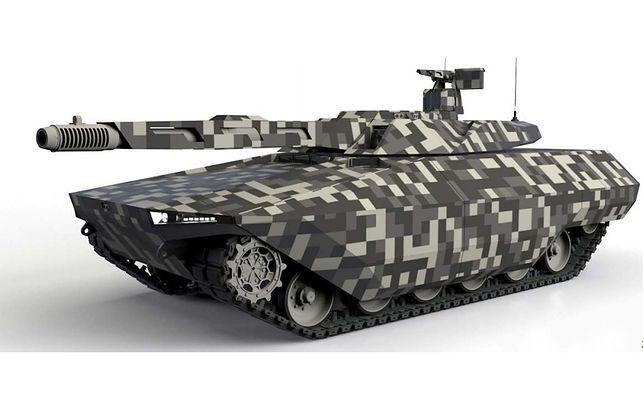 Wizualizacja MGCS wykonana przez Rheinmetall