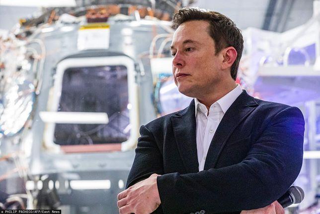 Elon Musk walczy z oszustami na Twitterze.