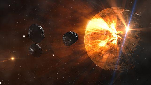Asteroidy zbliżają się do Ziemi. Najprawdopodobniej ją ominą