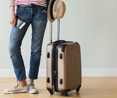 Wyjątkowa walizka z czytnikiem linii papilarnych