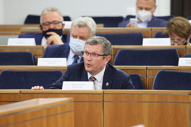 Senator Marcin Bosacki zapowiedział dyscyplinę w szeregach klubu