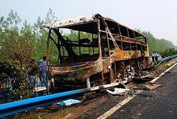 41 osób zginęło w płonącym autobusie