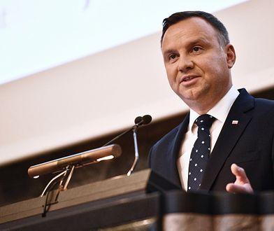 Andrzej Duda na wykładzie w Zurychu