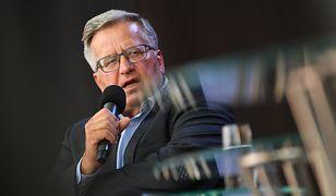 Sławomir Nowak wyszedł z aresztu. Bronisław Komorowski komentuje jego słowa
