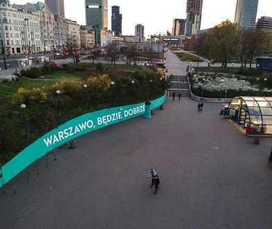 W Warszawie powstały cztery murale ku pokrzepieniu serc.