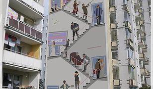 Wizualizacja muralu