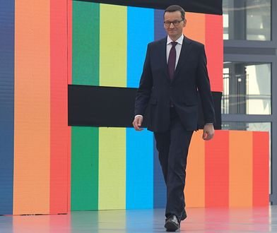 Premier Mateusz Morawiecki (Photo by Artur Widak/NurPhoto via Getty Images)