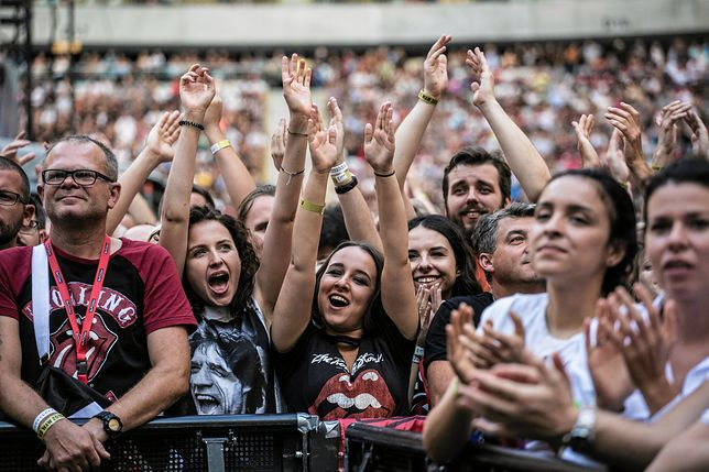 Skandal na koncercie The Rolling Stones w Warszawie