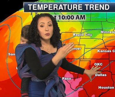 Nietypowa prezentacja pogody miała miejsce w abc News