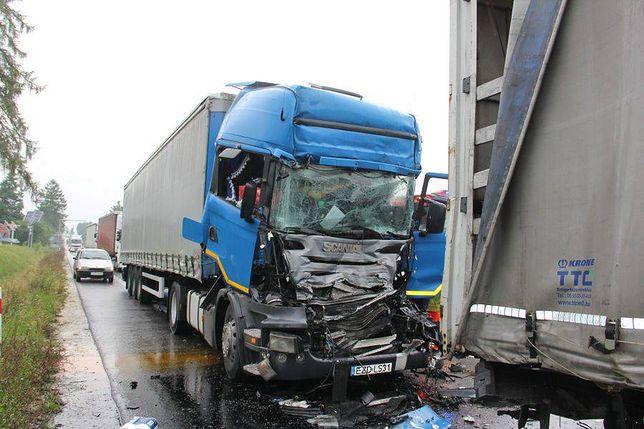Do wypadku doszło w Pacanowie