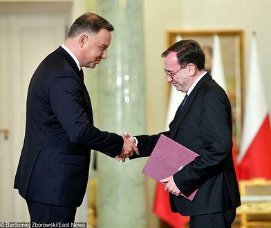 Mariusz Kamiński został zaprzysiężony na szefa MSWiA