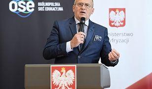 Zbigniew Rau ogłosił w środę decyzję ws. Hanny Zdanowskiej