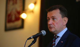 Szef MSWiA Mariusz Błaszczak: ten, kto okupuje Sejm, łamie prawo