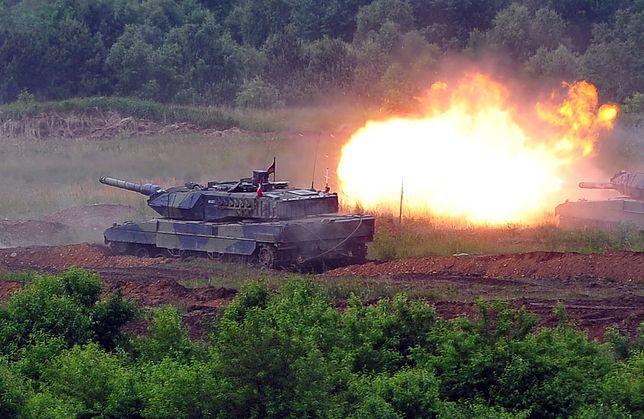 Czołgi z nową amunicją
