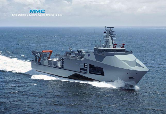 """""""Ratownik"""" będzie nowoczesnym okrętem ratowniczym"""