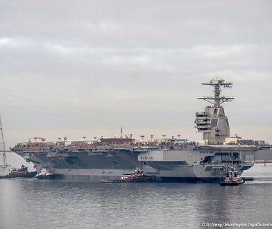 13 miliardów dolarów za supernowoczesny okręt marynarki USA