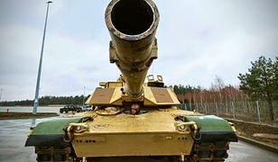 M1 Abrams należący do 278 Regimentu Kawalerii Pancernej US Army