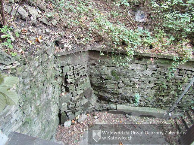 Nieznany fragment muru odkryto w Cieszynie.