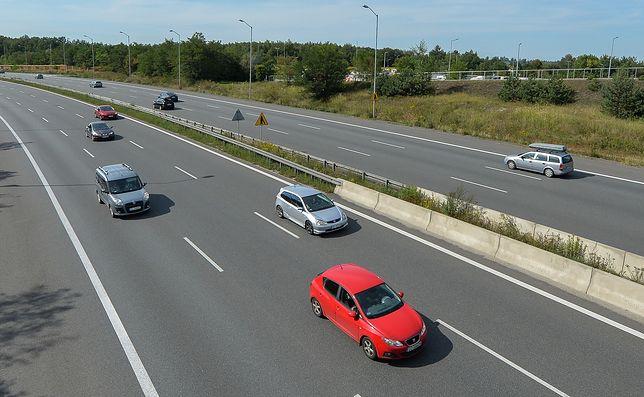 Rosjanin szedł poboczem autostrady. Zatrzymała go straż graniczna