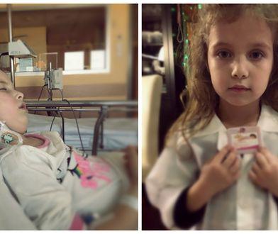 Julia ma 6 lat i zmaga się z guzem mózgu