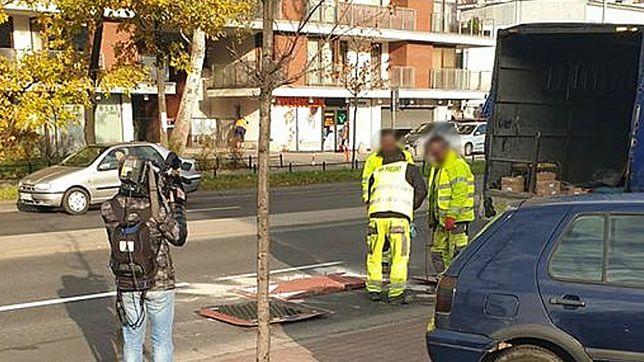 Warszawa. Montaż progów spowalniających na ul. Sokratesa po śmiertelnym wypadku w tym miejscu