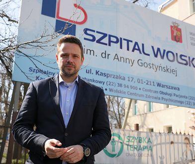 Rafał Trzaskowski poinformował o zakupie nowego sprzętu do szpitali.