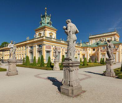 Łazienki Królewskie i Pałac w Wilanowie zachęcają do odwiedzin online.