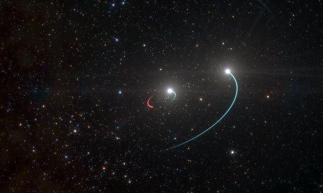 Czarna dziura jest naprawdę bardzo blisko Ziemi. Nowe odkrycie naukowców Europejskiego Obserwatorium Południowego (EOS)