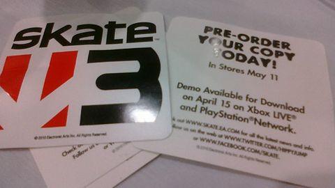 Skate 3 z demem, a demo z datą