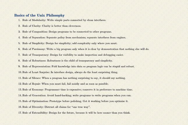 Filozofia Uniksa