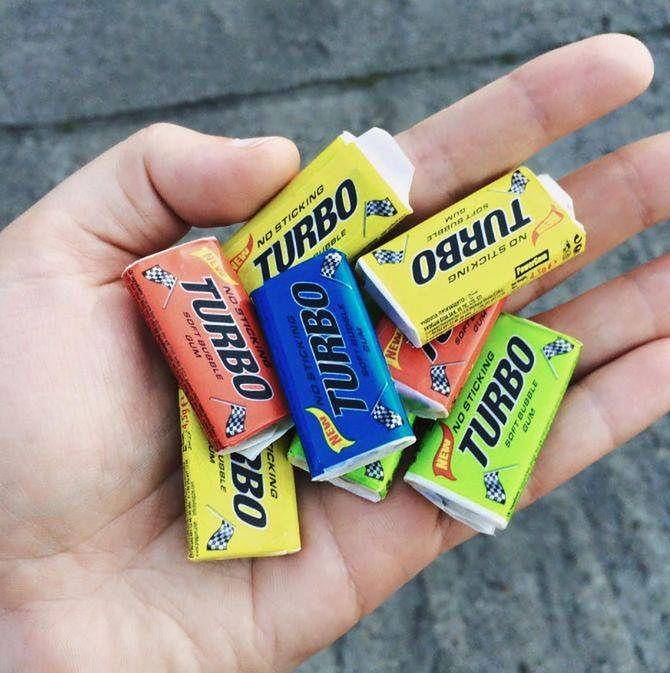 Gumy Turbo były hitem naszego dzieciństwa