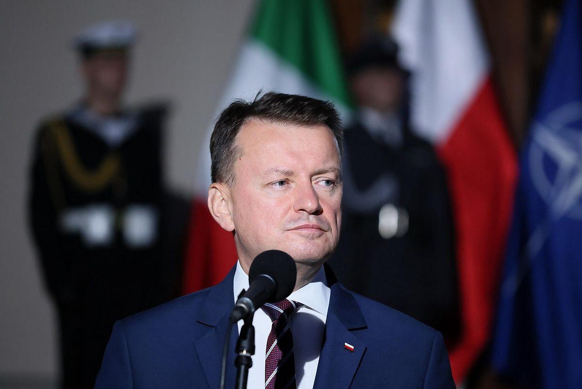 Minister Błaszczak z wizytą w USA. Nietypowa wymiana zdań z sekretarzem obrony