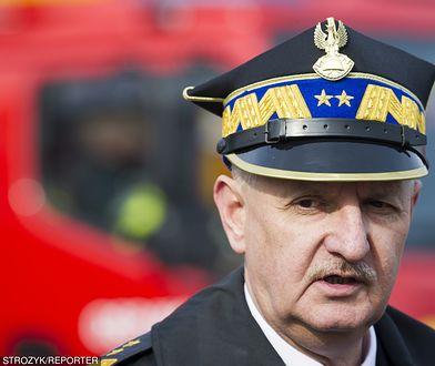 Pracownicy Komendy Głównej PSP skarżą się na rządy Leszka Suskiego