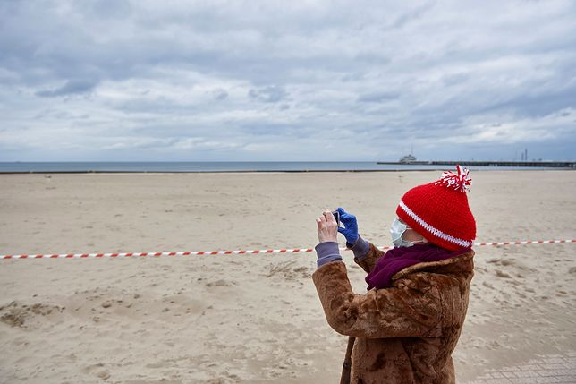 Od 1 kwietnia korzystanie z plaż i bulwarów nadmorskich jest zabronione