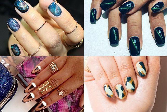 Paznokcie hybrydowe stanowią jeden z najpopularniejszych rodzajów manicure (fot. misspopnails, trishricci_doesnails, unistella)