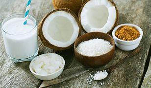 Kokos nawadnia i dodaje energii