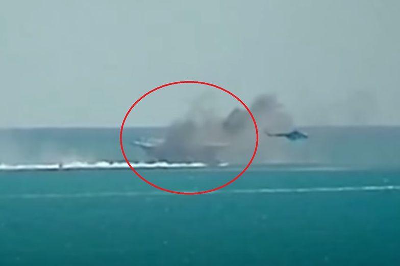 Iran zatopił amerykański statek? To była tylko atrapa