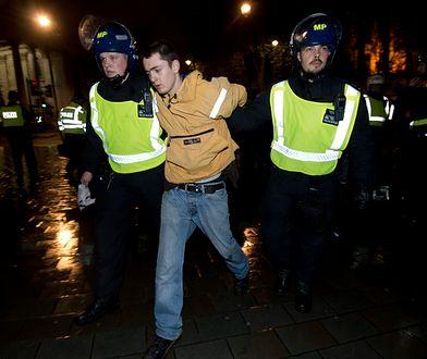 Zamieszki w Londynie. Protest ws. śmierci na komisariacie