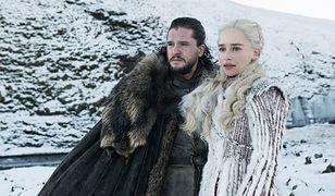 """Kit Harington i Emilia Clarke w ósmym sezonie """"Gry o tron"""""""