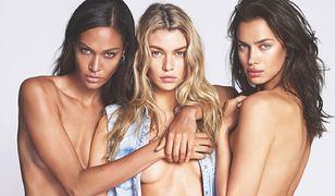 Modelki topless w kampanii Replay Jeans