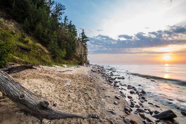 Plaża w Gdyni Orłowo