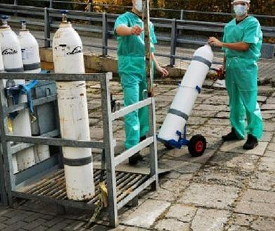 Strażnicy leśni pracują w łódzkim szpitalu od 29 października